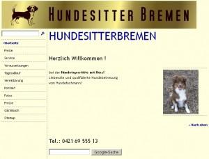 Hundesitterbremen Logo