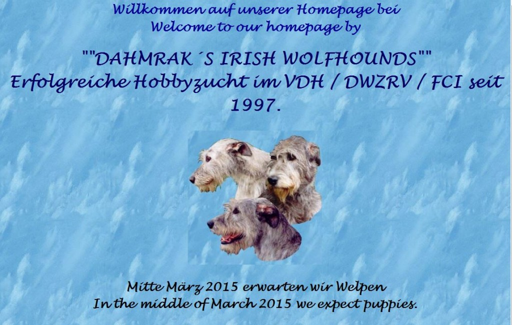 dahmrak irish wolfhounds